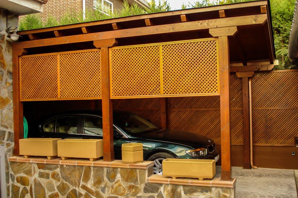 Garajes de madera (1)