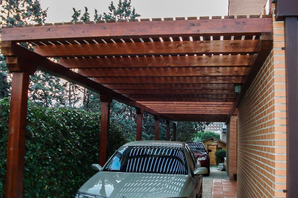 Garajes de madera (2)