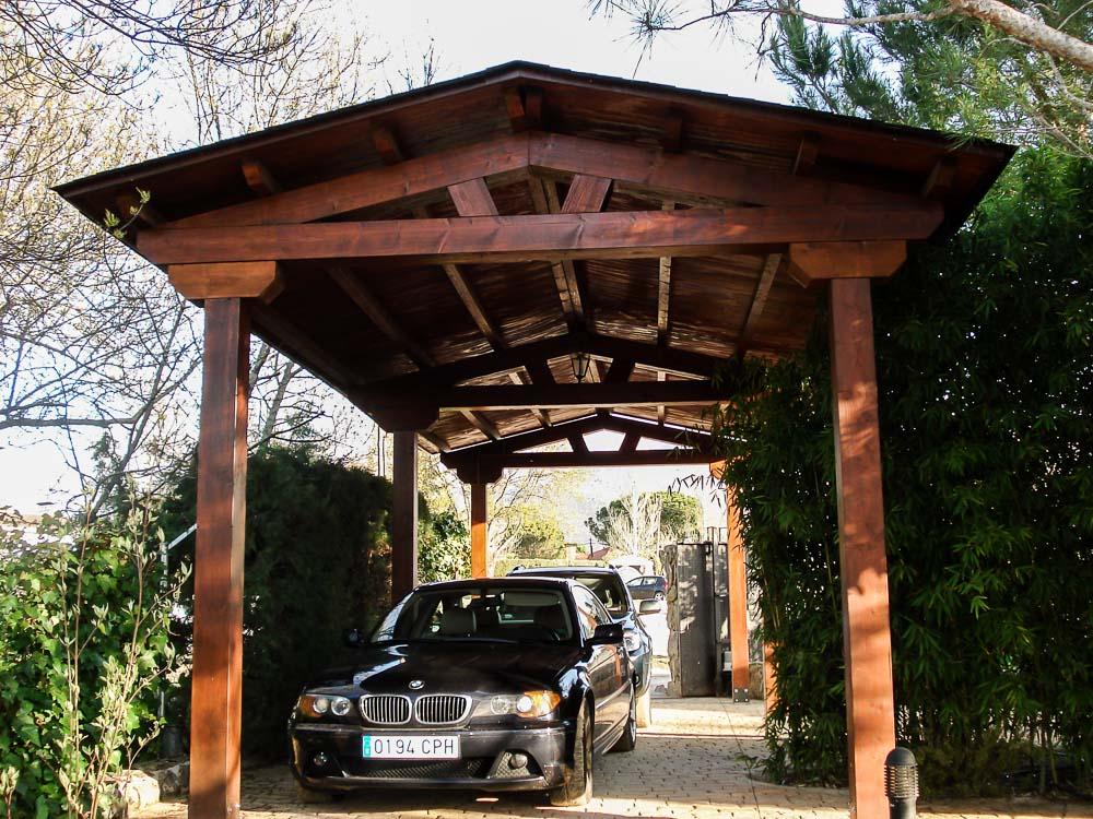 Garajes de madera (3)