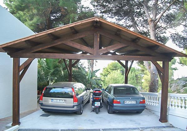 Garajes de madera (5)