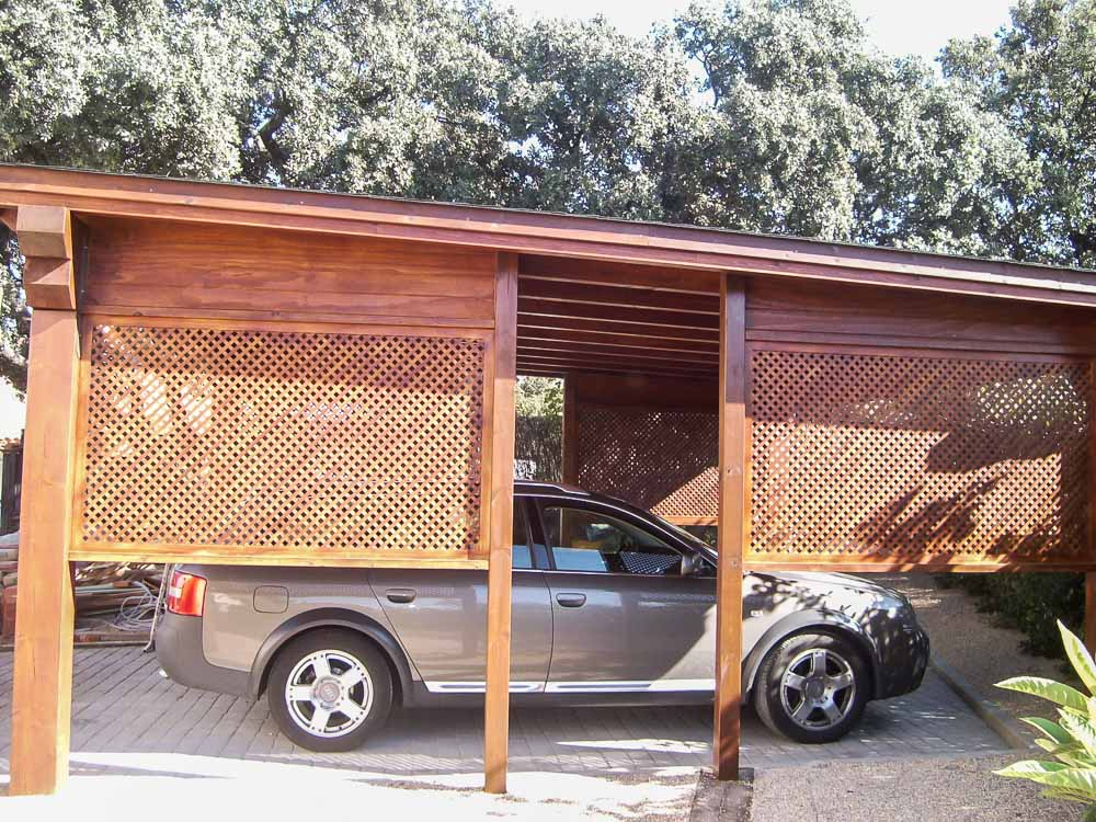 Garajes de madera (9)