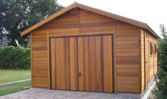 garajes madera