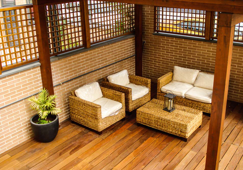 Tarima exterior madrid pergolas madera madrid porches - Madera para terrazas ...