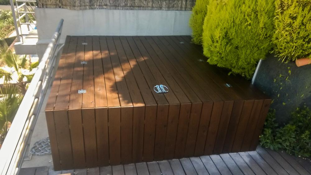 Deck de madera en Altura (103)