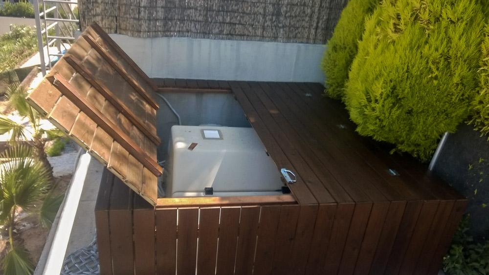 Deck de madera en Altura (104)