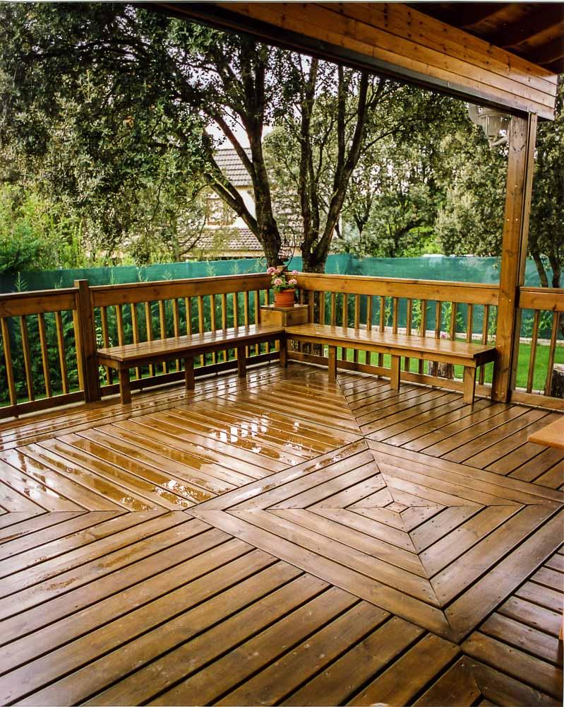 Deck de madera en Altura (117)
