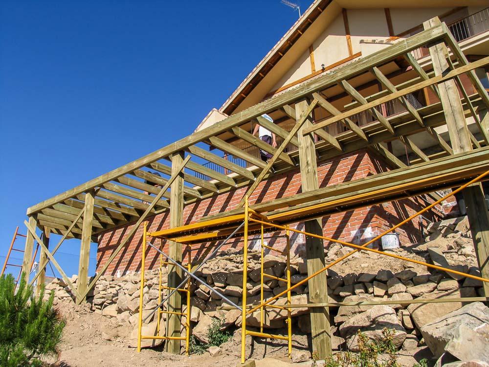 Deck de madera en Altura (4)