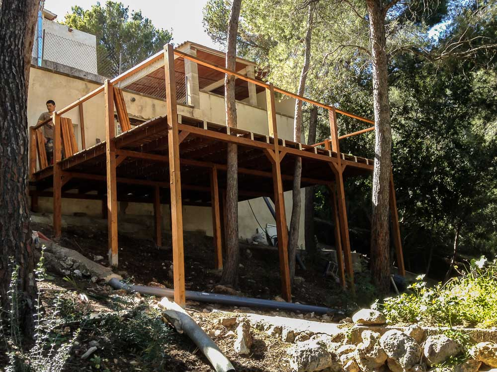 Deck de madera en Altura (55)