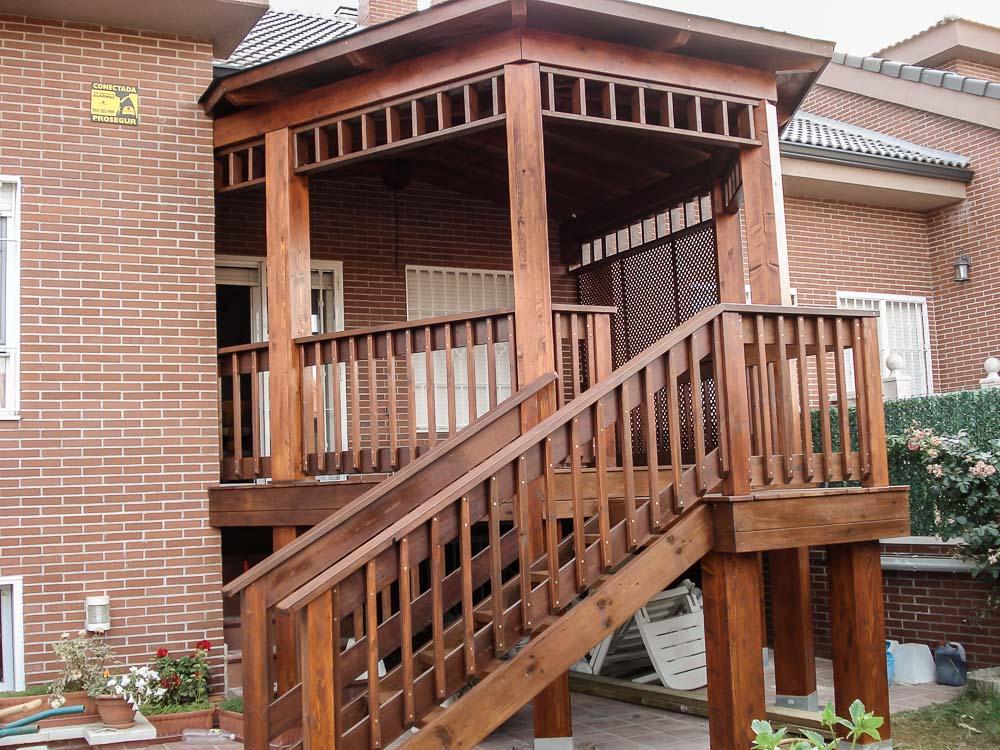 Deck de madera en Altura (6)
