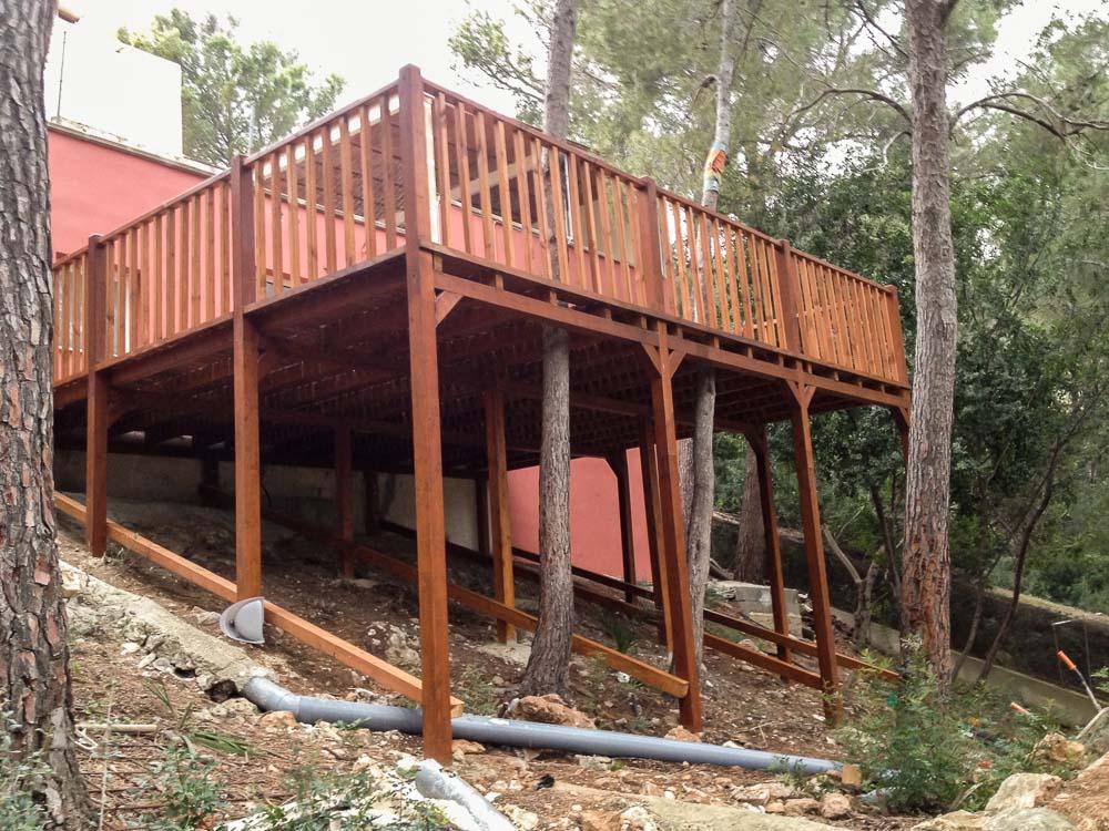 Deck de madera en Altura (62)