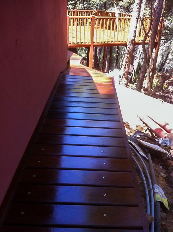 Deck de madera en Altura (75)