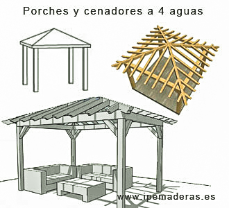 Porches a cuatro aguas (10)