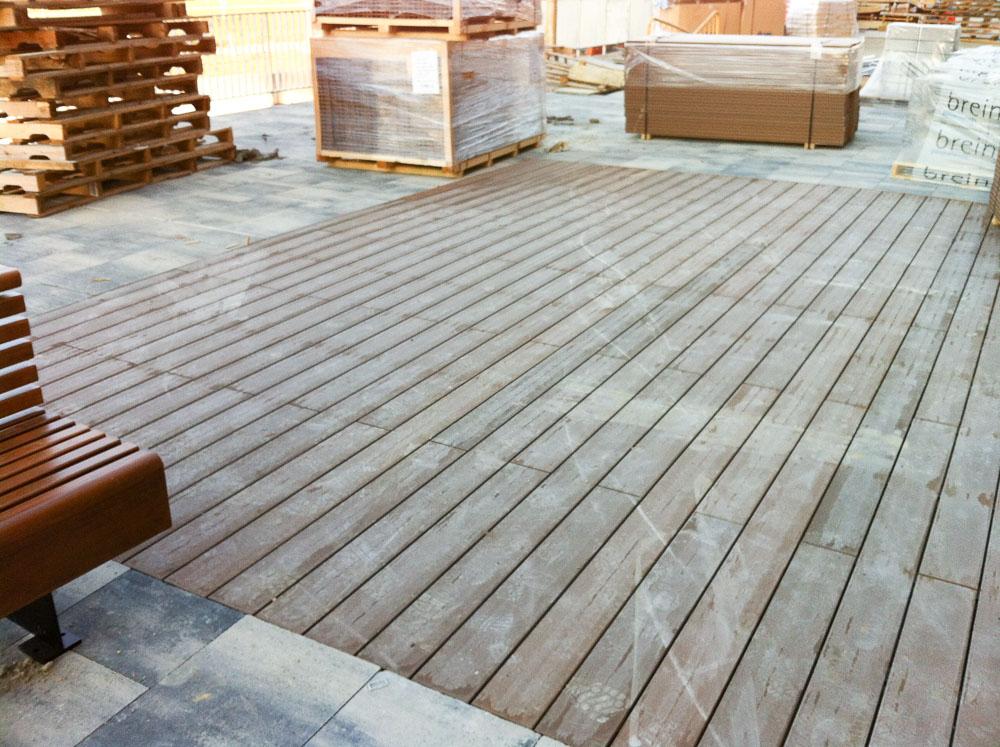 Tarima de composite en terrazas tarima de exterior - Tarima para terraza ...