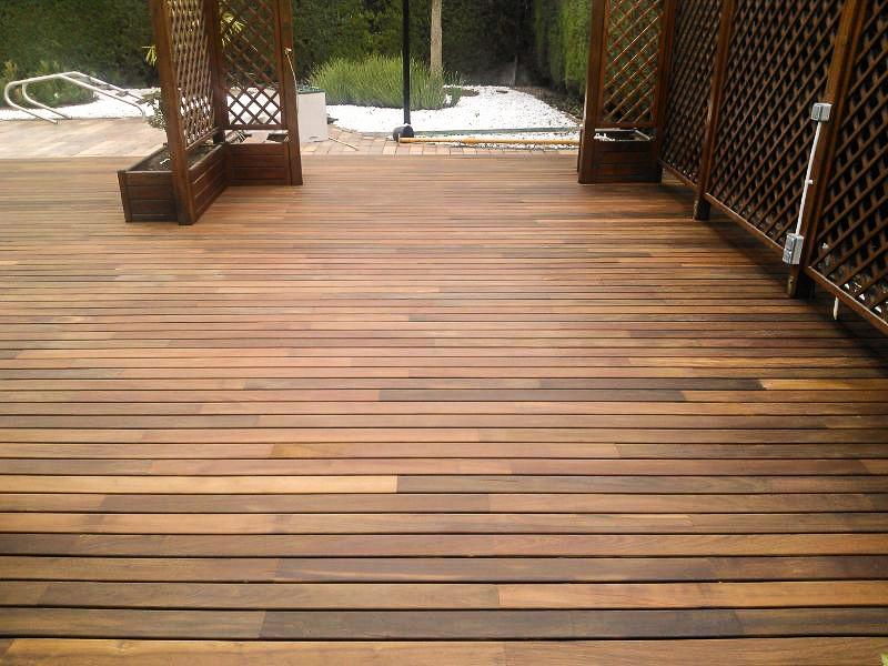 Tarima exterior madera ipe tarima de exterior tarima for Ipe madera exterior