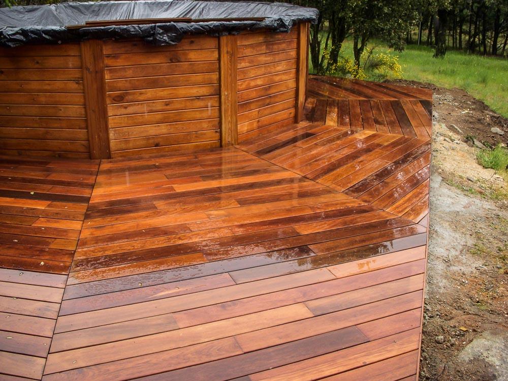 Tarima de madera en piscinas tarima de exterior tarima - Tarimas de madera para exterior ...