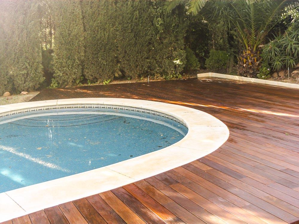 Tarima exterior madera ipe tarima de exterior tarima - Tarima para piscinas ...