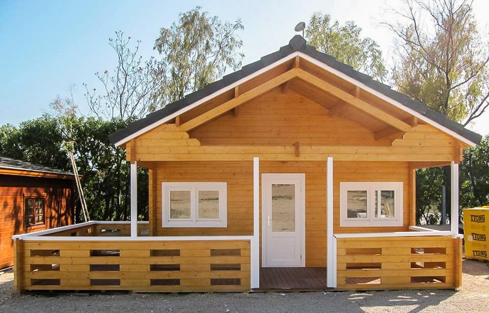 Casas de madera tarima de exterior tarima de interior tarima flotante tarima ipe - Casas estructura de madera ...