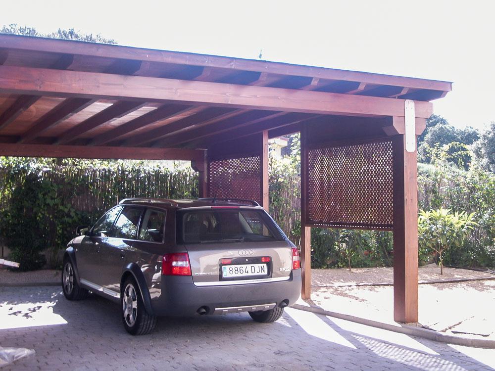 Garajes de madera (10)