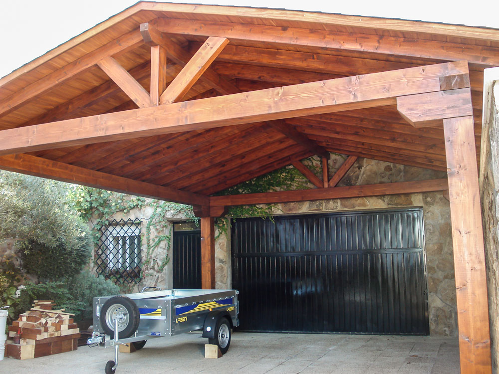 Garajes de madera (11)