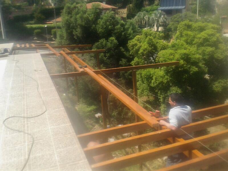 Deck de composite en Altura (2)