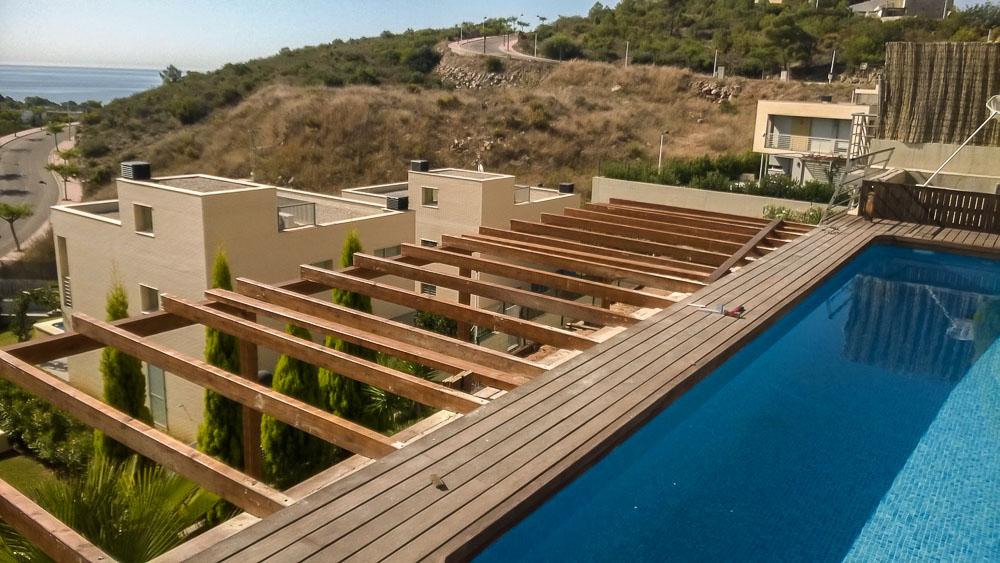 Deck de madera en Altura (101)
