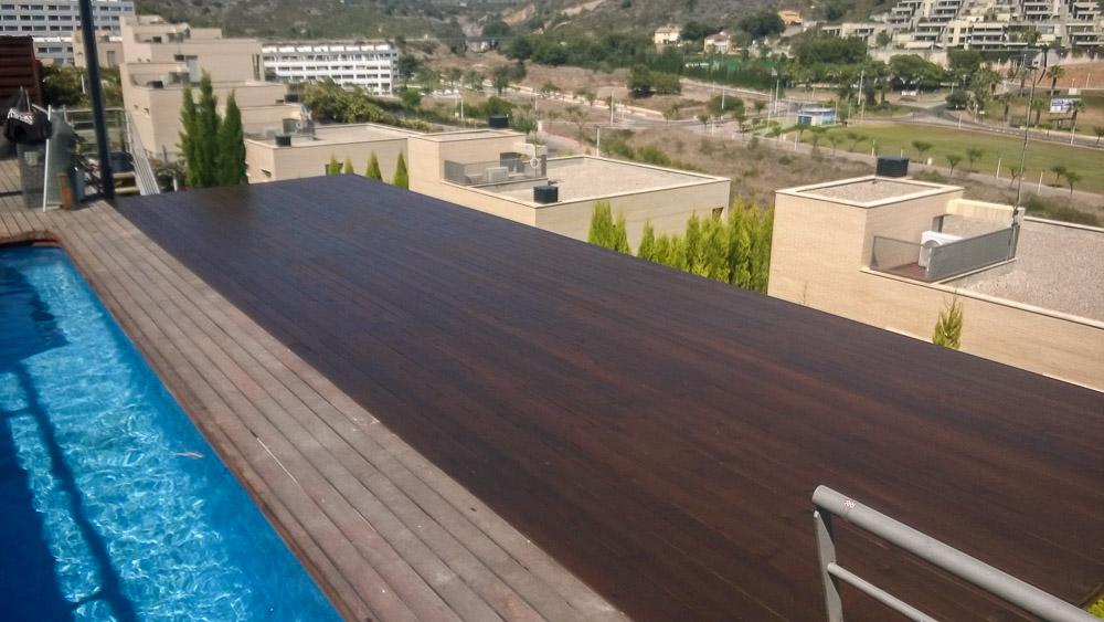 Deck de madera en Altura (105)