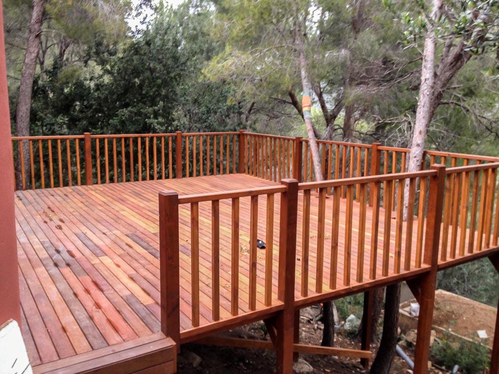 Deck de madera en Altura (70)