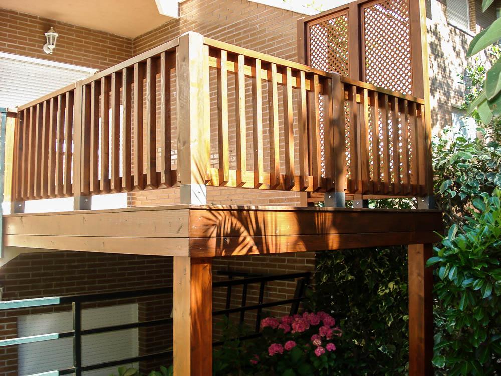 Deck de madera en Altura (9)