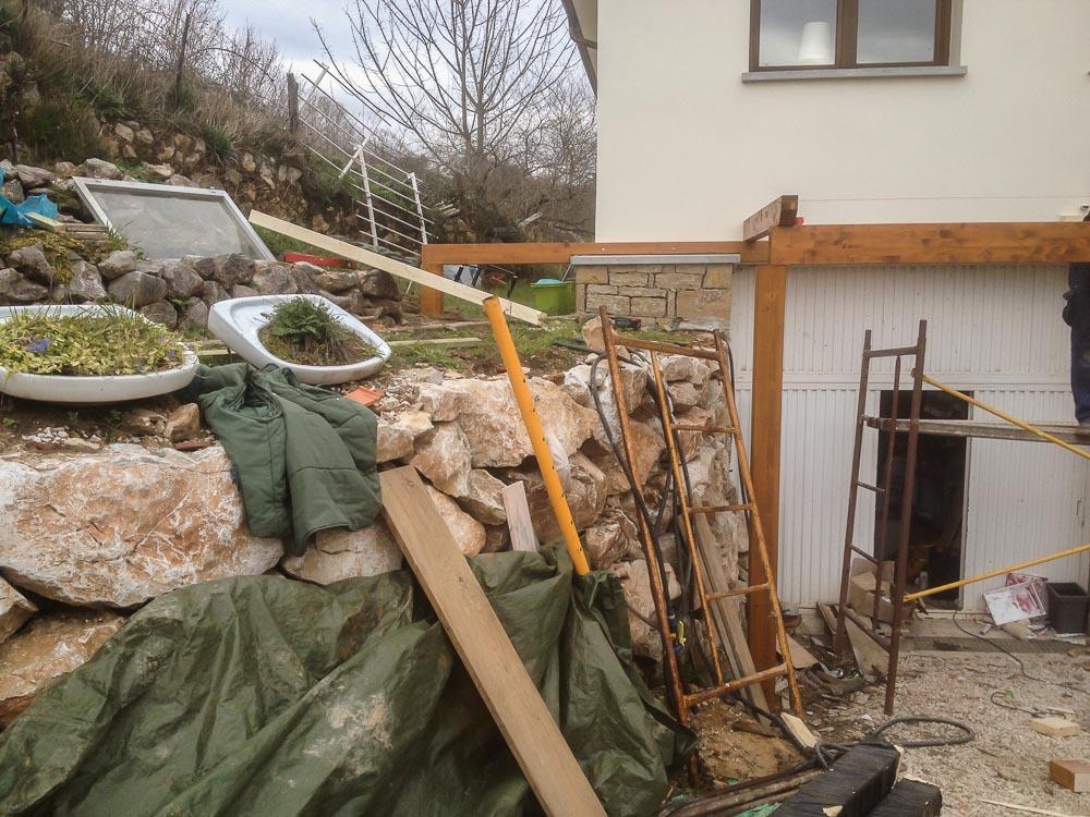 Deck de madera en Altura (90)